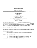 A0717FR Notice Of Decision