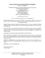 B2017FR Notice of Decision