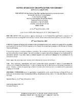 B2417MW Notice of Decision