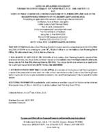 B13-1518BRW&ZBA1805BRW Notice of Public Hearing