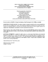 ZBA1804SC Notice of Receipt of Complete Application