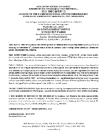 B2418FR&A0418FR Notice of Application & Notice Of Public Hearing