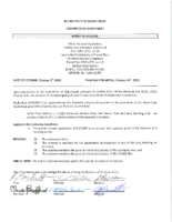 A0418FR Notice Of Decision