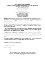 B2518FR Notice of Application