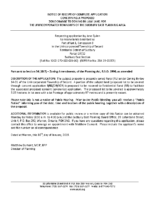 ZBA1901SCR_Notice of Receipt of Complete Application