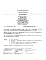 A0519FR Notice Of Decision