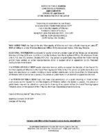 ZBA1908KL Notice of Public Hearing