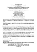 B2919FR Notice of Application