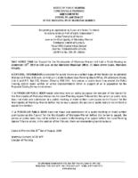 ZBA19-13MW Notice of Public Hearing