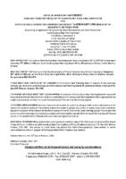 B3219FR Notice of Application