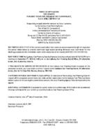 B3319SRV Notice of Application