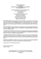 B3919SRV Notice of Application