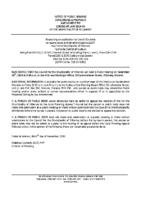 ZBA1915KL Notice of Public Hearing