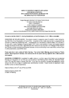 ZBA2002FR Notice of Receipt of Complete Application
