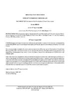 ZBA2007FR Notice of Passage